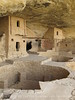 Balcony House dwellings and kiva