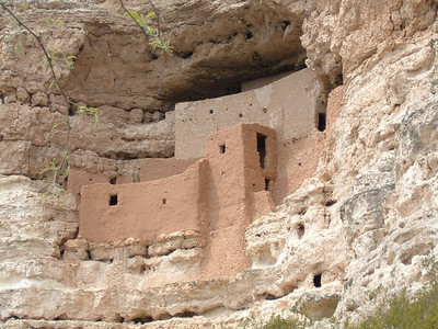 Montezuma Castle and Well