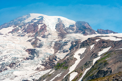 Nisqually Glacier - Mount Rainier