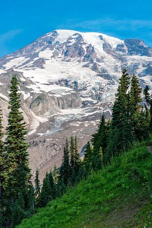 Nisqually Glacier and Waterfall - Mount Rainier-2