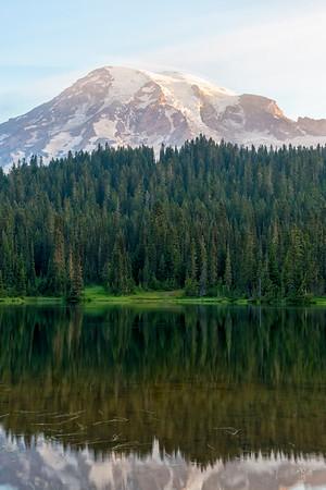 Reflection Lake Sunrise - Mount Rainier