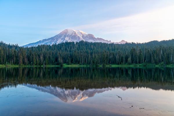 Reflection Lake Sunrise - Mount Rainier-3