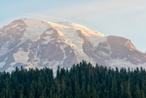 Reflection Lake Sunrise - Mount Rainier-2