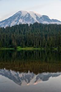 Reflection Lakes Sunrise - Mount Rainier-5