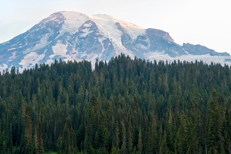 Reflection Lakes Sunrise - Mount Rainier-3