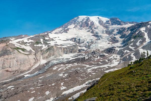 Nisqually Glacier and Waterfall - Mount Rainier-5