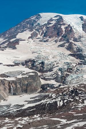 Nisqually Glacier and Waterfall - Mount Rainier-4