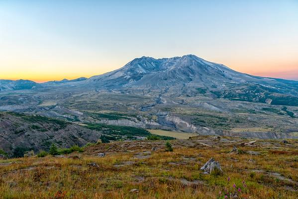 Mount St  Helens Sunrise - Mount St  Helens-3