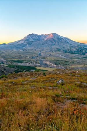 Mount St  Helens Sunrise - Mount St  Helens-4
