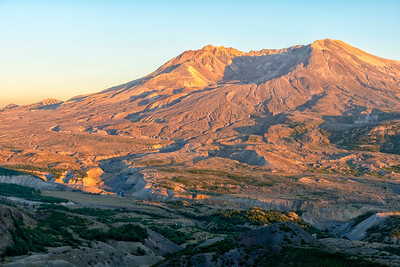 Mount St  Helens Sunset - Mount St  Helens-4