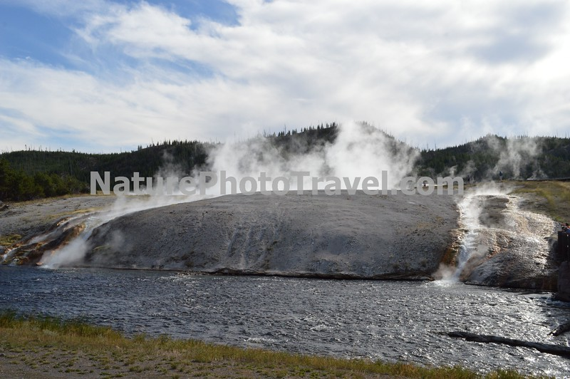 Volcanic Action - Midway Geyser Basin