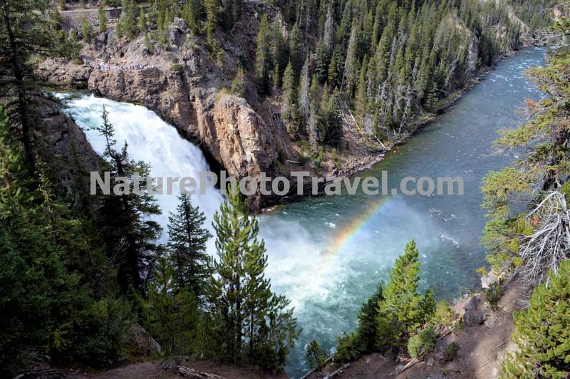 Yellowstone Grand Canyon, Upper Falls