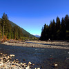 Hoh River, Olympic National Park.  October 2009
