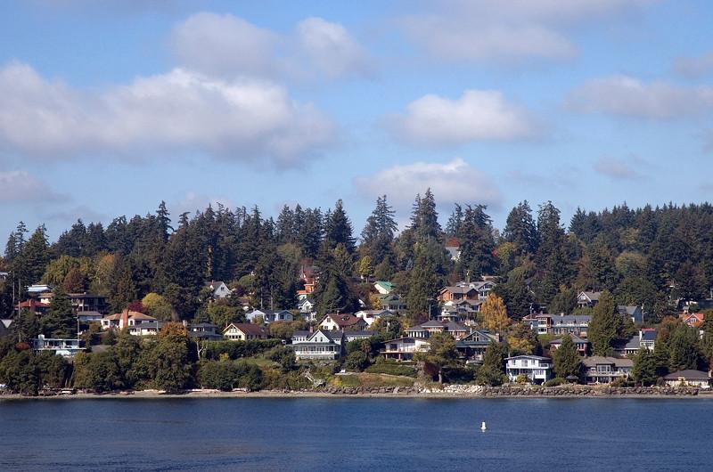 Bainbridge Island, Puget Sound Washington, October 2009