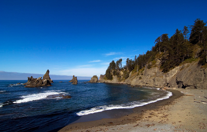 Shi Shi beach, Olympic National Park, October 2009