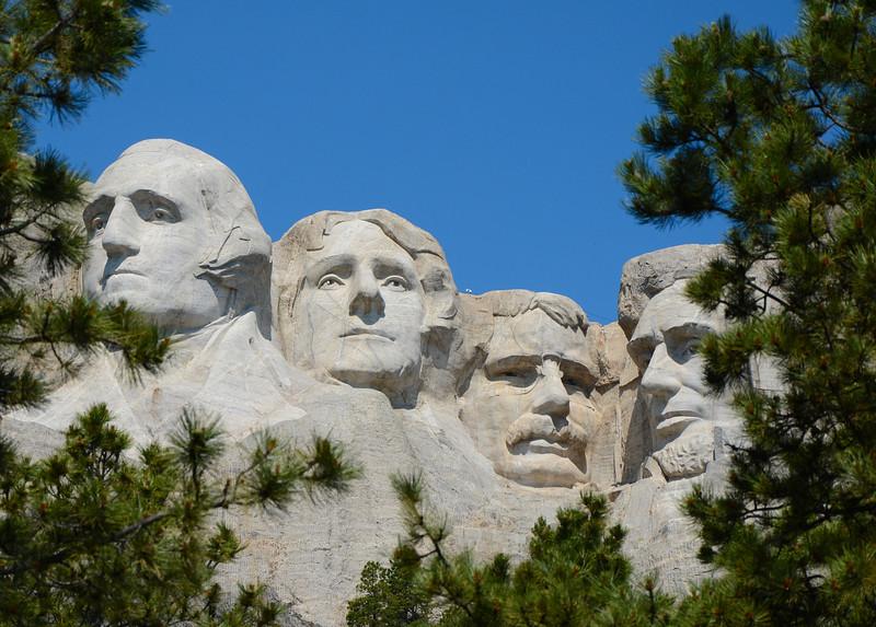 Mount Rushmore National Monument--South Dakota