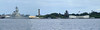 Pearl Harbor:  USS Arizona Memorial.  The End (USS Missouri) and Beginging (USS Arizona) of US involvement in World War II.