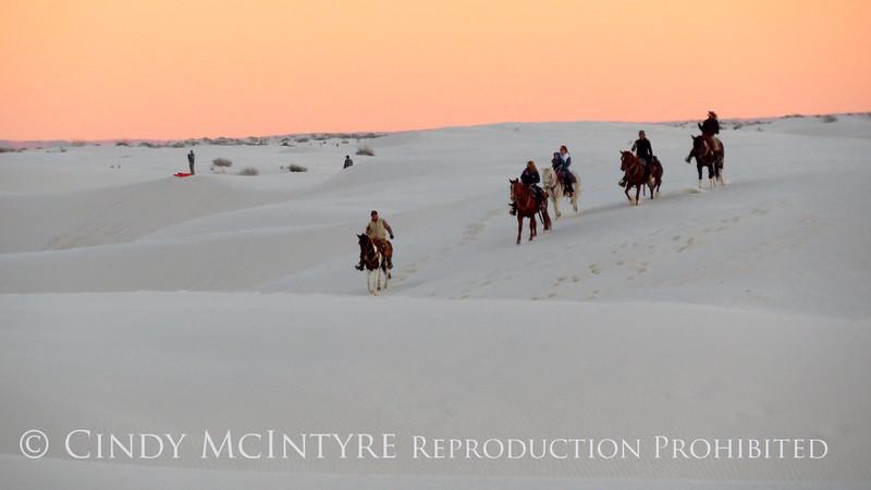White Sands Natl Mon NM horse riders (17)