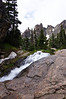 Tyndall Creek rushes over rocks below Emerald Lake; Rocky Mountain National Park, Colorado.