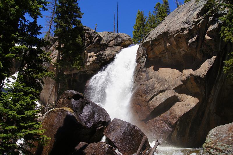 Ouzel Falls, Rocky Mountain National Park, Colorado.