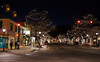 Main Street, Estes Park, Colorado, on a crisp December night.