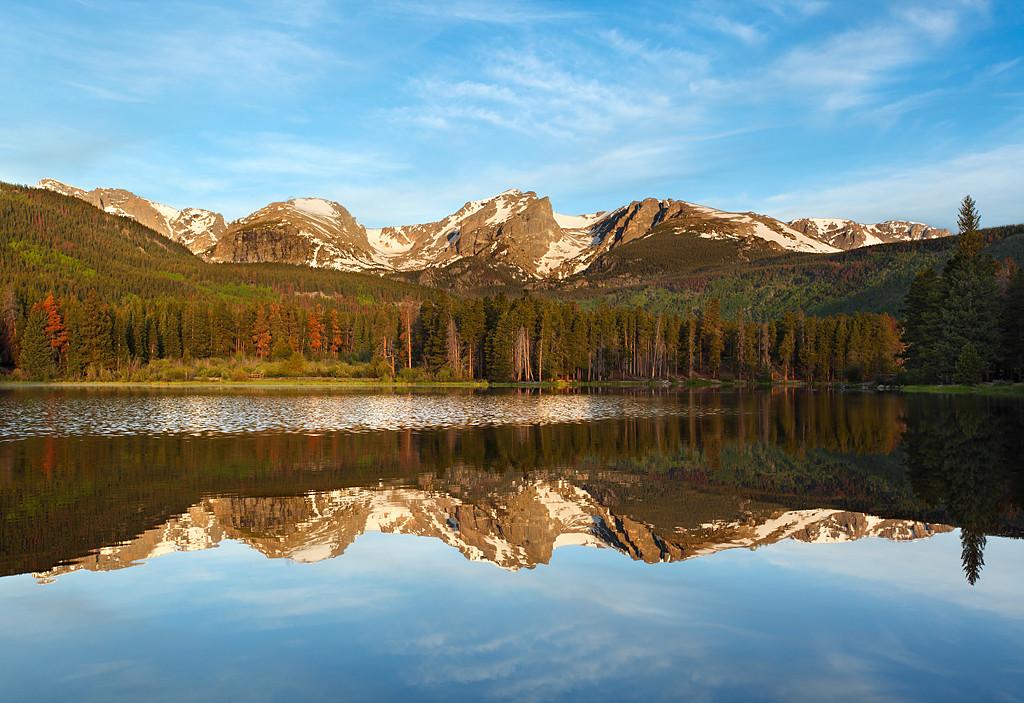 Rocky Reflections - Sprague Lake (Rocky Mountain National Park)