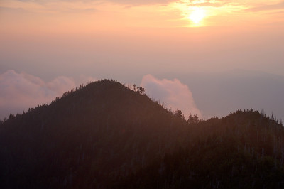 LeConte Sunset
