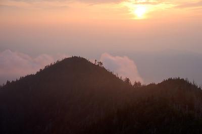 LeConte Sunset