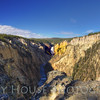 Grand Canyon of the Yellowstone (wide-angle)