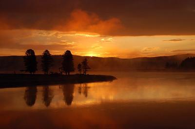 Sunrise on Alum Creek
