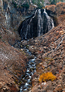 Nearly Distilled - Rustic Falls (Yellowstone National Park)