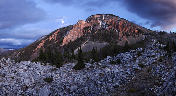 Fractured Remnants - Bunsen Peak (Yellowstone National Park)