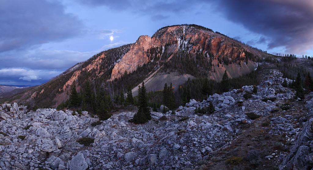 Fractured Remnants - Bunsen Peak (Yellowstone National Park)