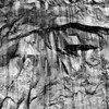 Rock Face B&W