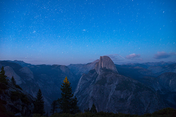 Glacier Point Half Dome Stars - Yosemite-4