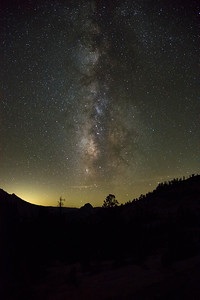 Olmstead Point Galaxy - Yosemite