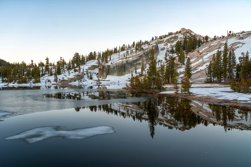 Upper Cathedral Lake Tressider Peak Dawn - Yosemite-2