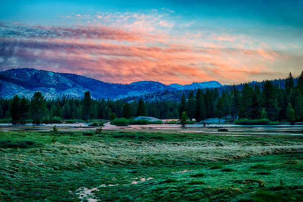 Tuolumne Meadows Sunrise - Yosemite-5