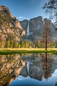 yosemite-falls-river-reflection