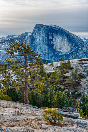 Half Dome and North Dome - Yosemite-2