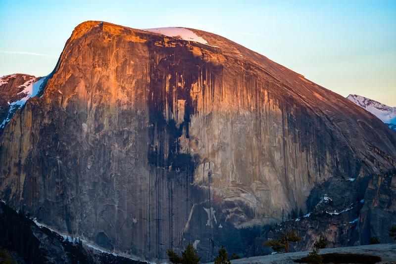 Half Dome Sunset near North Dome - Yosemite-4
