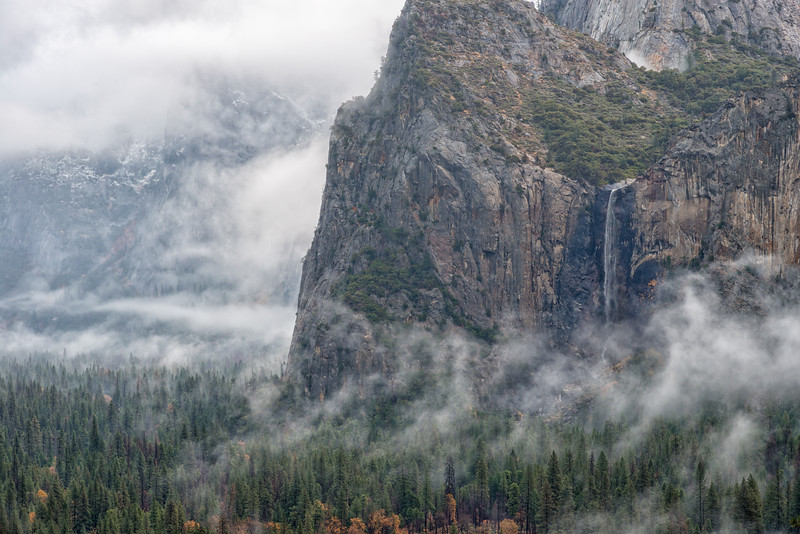 Bridalveil Fall Thanksgiving Storm - Yosemite