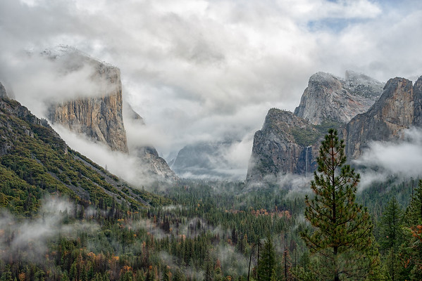 Tunnel View Thanksgiving Storm - Yosemite