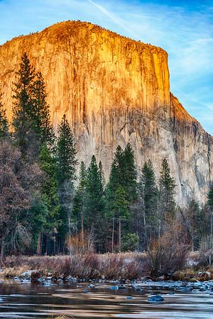 Gates of the Valley Sunset - Yosemite-2