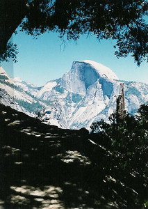 Half Dome from Glacier Point Trail
