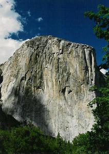Sunlit El Capitan