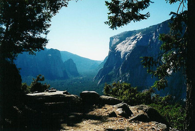 Valley from Glacier Point Trail