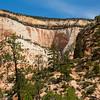 Colorful cliffs along Rt 9