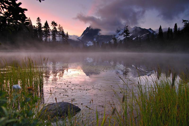 Sunrise over Mt. Shuksan