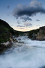 Fading Light <br /> Glacier National Park, Montana